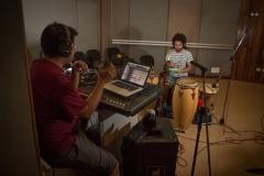 Recording in Cuba