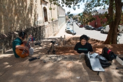 Recording in Oxaca