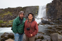 Ronan and Diego in Iceland